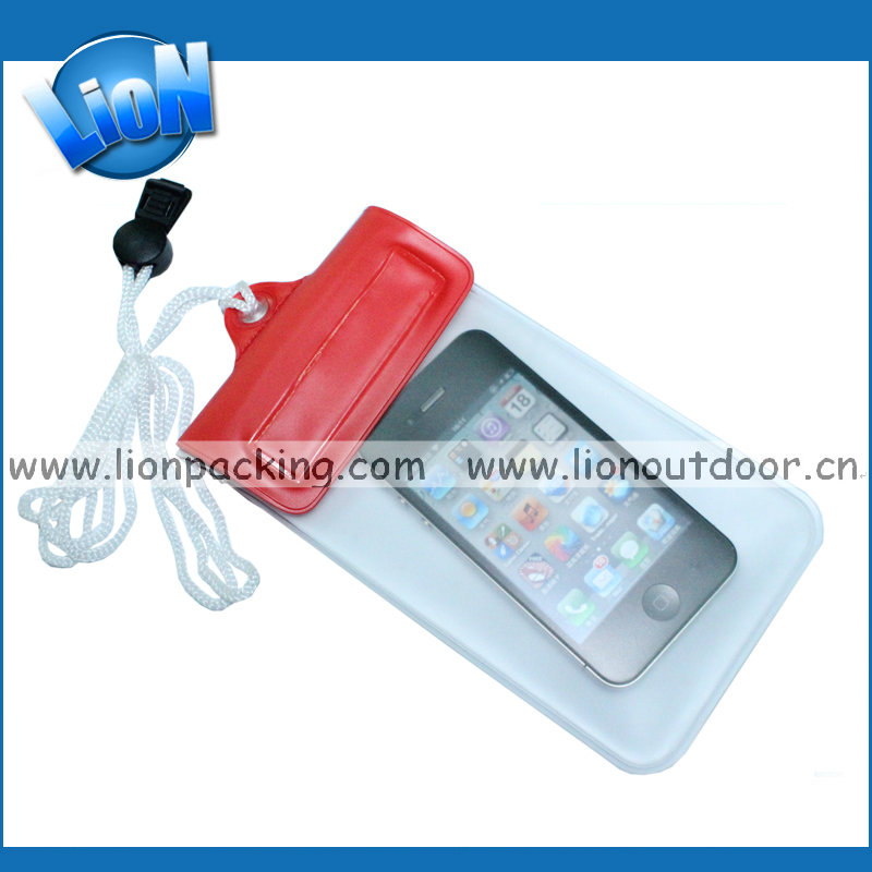 Outdoor Travel Waterproof Bag PVC Mobile Phone Camera Pouch For Fishing Swimming Dry Bags Travel Kits Accessory