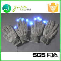 Wholesale Party Favor led party glove, led glove light, flashing finger light gloves