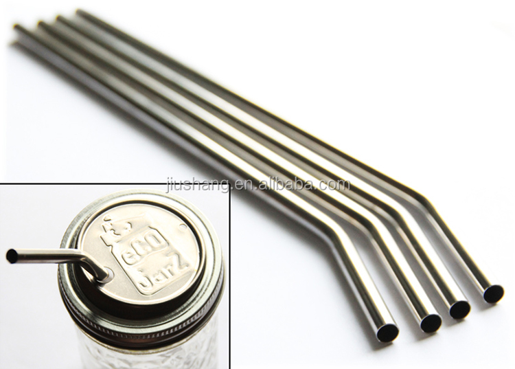 wholesale life eco friendly fancy hard Stainless steel metal drinking straw