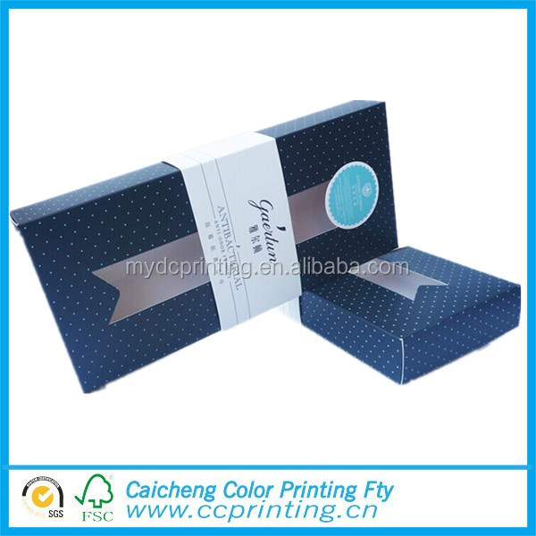 Newest paper knife packing box tableware package