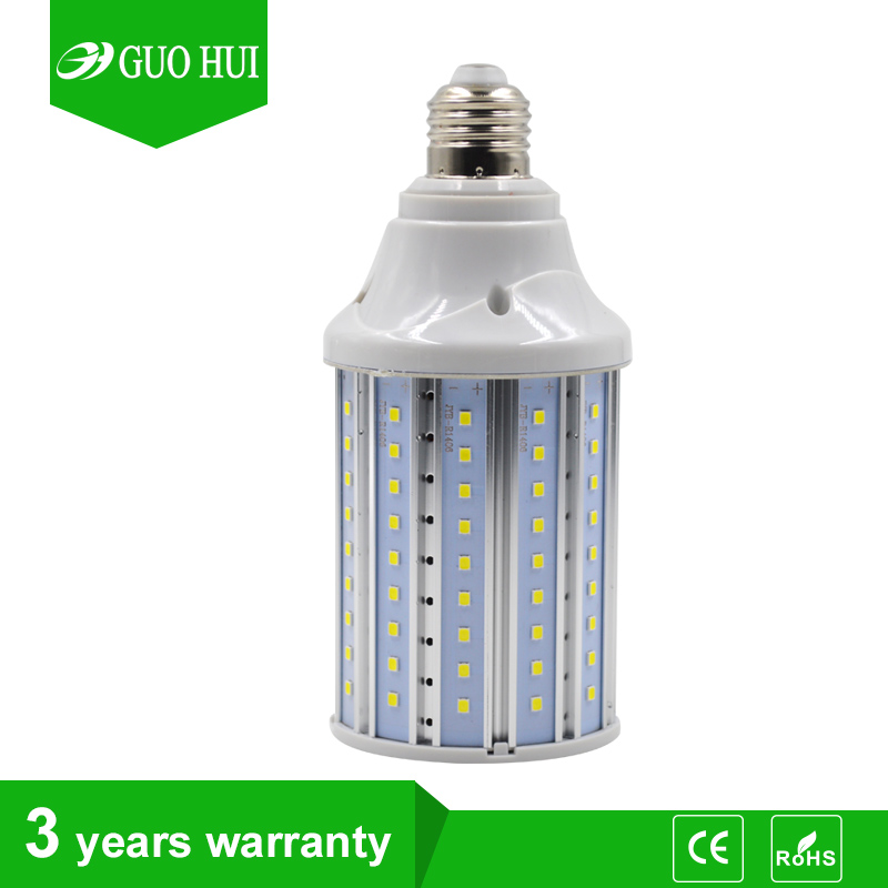 130lm/w Dial 75 replacement edison 20w led corn light bulb with 2 years warranty for warehouse