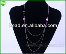Gemstone Necklace Jewelry,Necklace,Wholesale Order silicone sports weave necklace