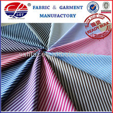 2012 new cotton polyester stripe fabric