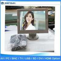 small 12 inch lcd tv monitor TFT-LCD LED TV DTK-1208