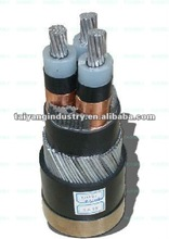 aluminum high voltage grounding cable