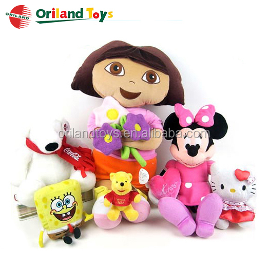 fashion cloth plush doll fabric dolls from ICTI audited doll manufacturer china