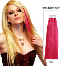 2016 aliexpress 7a grade invisible tape hair extensions