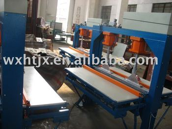Hot joint press/wood machine