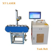 Customized fiber laser engraving machine for metal print large format auto moving