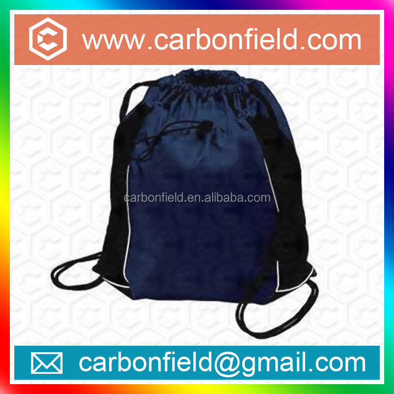 promotional good quality drawstring backpack