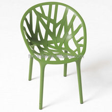 wholesale replica vegetal outdoor garden modern plastic chair