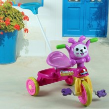 Summer design colorful ice cream take passenger push car tricycle