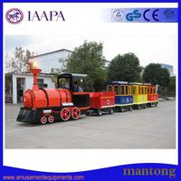 Hot Hot Sale Family Pop Game Heated Trackless Train For Children