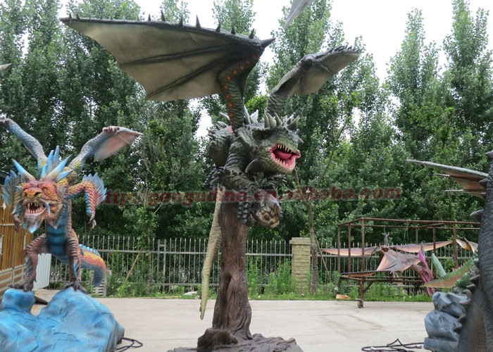 Remote Control High Simulation Dragon 3d Model