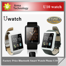 2015 new WaterProof U Watch SmartWatch U10 Upgrade Version U10L Smart Watch