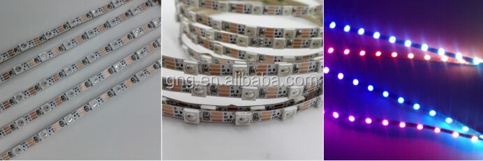 5mm led strip Addressable led strip WS2812B 48 pixels per meter bendable led strip