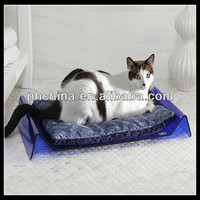 rectangular hot sell unique material acrylic pet bed/bed for pets/lucky pet dog beds