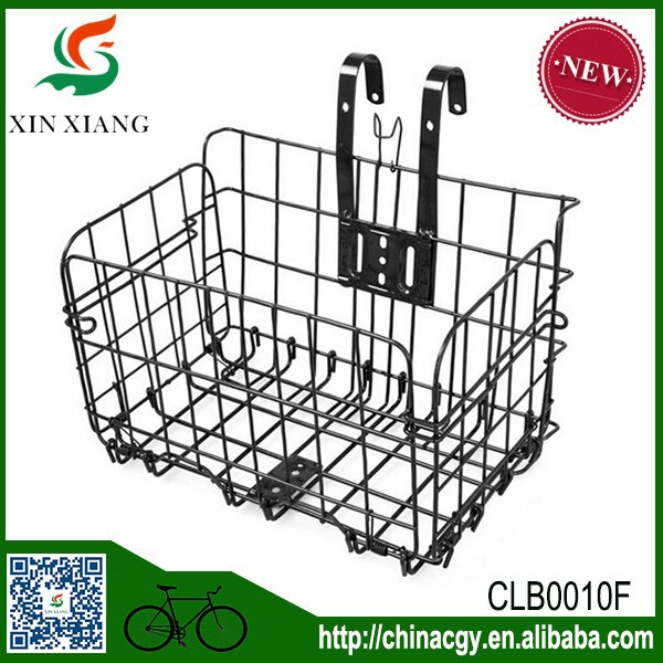 Custom Front Stainless Steel Bicycle Basket