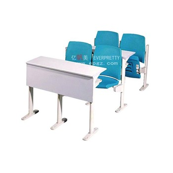 Cheap plastic tables and chairs university desk chair lecture hall chair with desk