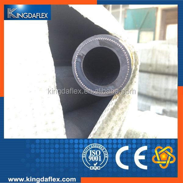 5 Inch Textile Reinforced Sand & Gravel Rubber Hose With Steel Helix