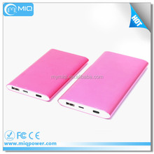 MIQ evolution Type-C power bank portable battery charger power bank 8000mah