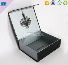 Luxury garment box / foldable gift box packaging / retail box packaging for unique paper box packaging