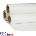 "US Stock-24"" x 98' Roll White Color Printable Heat Transfer Vinyl For T-shirt Fabric"