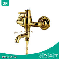 Fashionable decorating design luxurious bathtub faucet