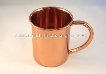 Copper Mugs~ Moscow mule copper mugs~Pure solid copper mugs for moscow mule