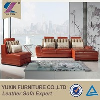 guangdong orange leather sofas white leather sofas modern leather sofas