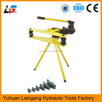 Steel Manual Hydraulic Pipe Bending Machine HHW-2J Used Hand Tube Bender for Sale Hydraulic Tools