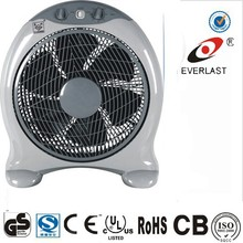 10 inch cheap fashion new model 50w mini small table electric box fan with 5 blades 3 speed 1hour timer