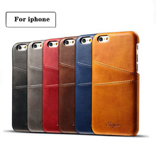 Luxury PU Leather Wallet Case For iPhone 7 Case 7 Plus 6 6s Plus Business Card Holder Back Cover Phone Cases for iphone 8