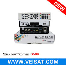 newest hd receiver smartone s500 support free iks+sks+wifi
