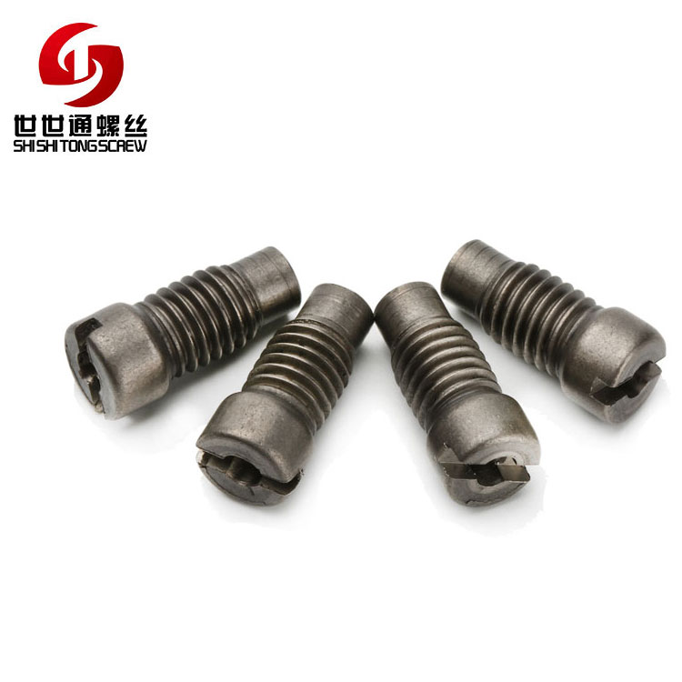 Special Custom M8 Slotted Barrel Titanium Alloy Nuts For High-Speed Rail Matching