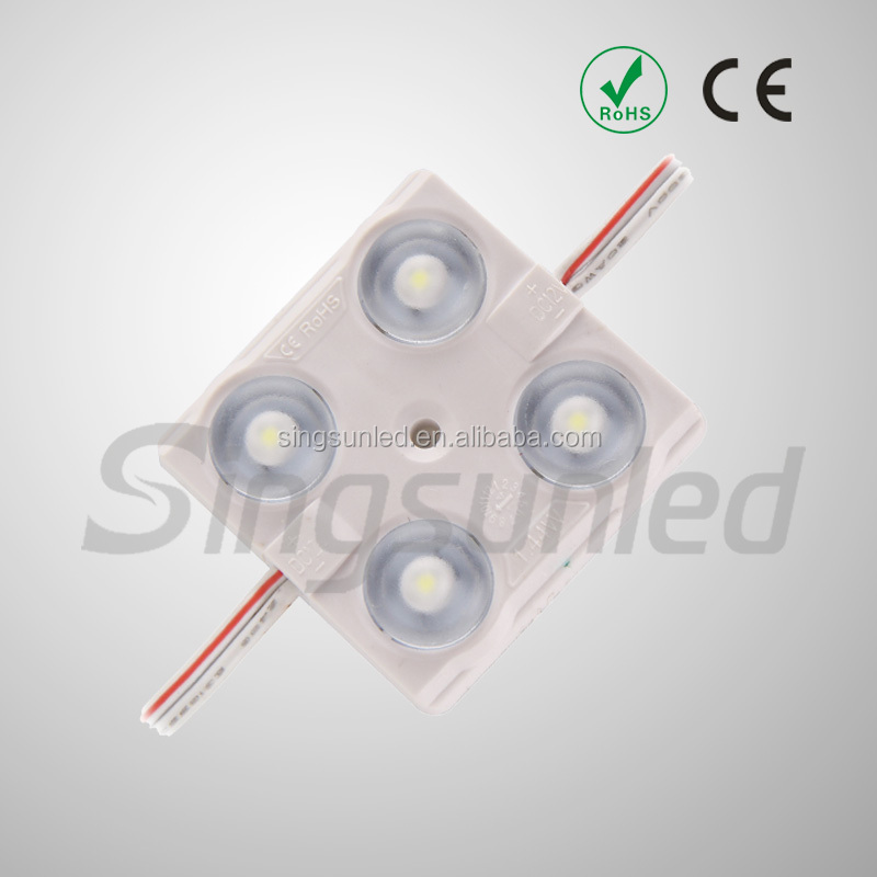 High power 2w 4 chips led module smd 2835 IP67 waterproof led module