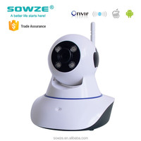 Poplar Baby Monitor Wireless P2P Camera Webcam Toy Camera with Two Way Audio Night Vision