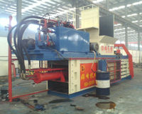 FDY series horizontal hydraulic automatic waste books baling press machine LOW COST