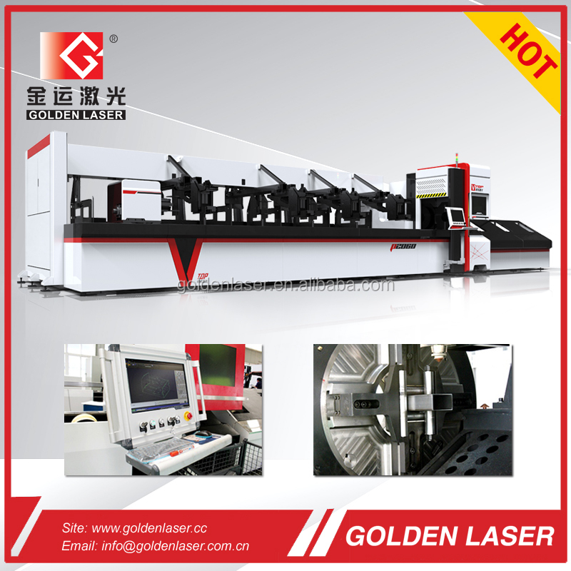CNC Laser Cutting Machine Tube / Pipe Cutting