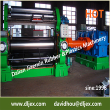China competitive XK-660 two roll rubber open mixing mill machinery with stock blender