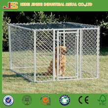 4' x 4' x 6' outdoor galvanized chain link dog kennel/dog cage