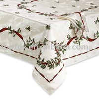 100% cotton printed table cover