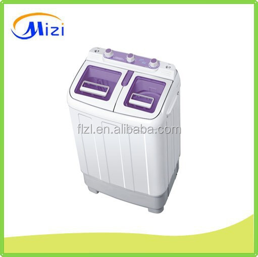 2015 New Style Semi Automatic Mini Portable Twin Tub Washing Machine