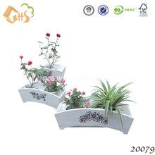 Hot sale eco flower pot /plant pot wholesale set 2