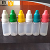 hotsale empty plastic e-liquid bottle with child proof cap