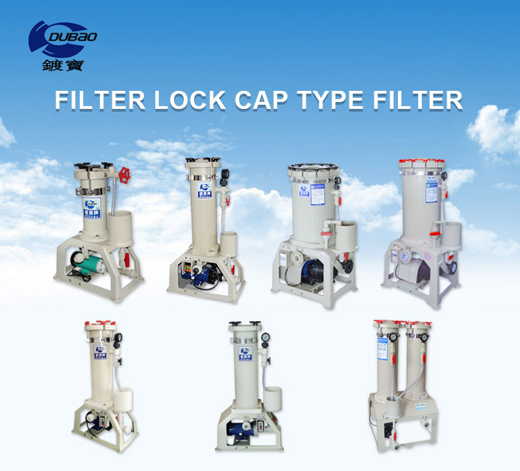 Jinshuo Customized PP PVC PVDF electroplating filter manufacturing equipment chemical filter