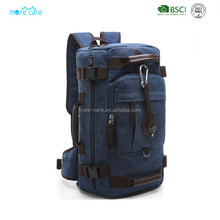 tactical waterproof denim canvas backpack military