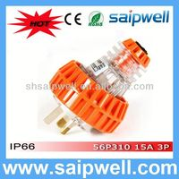Hot sale Energy saving factory price china sale cee iec ip54 16a plug socket/industrial plug and socket
