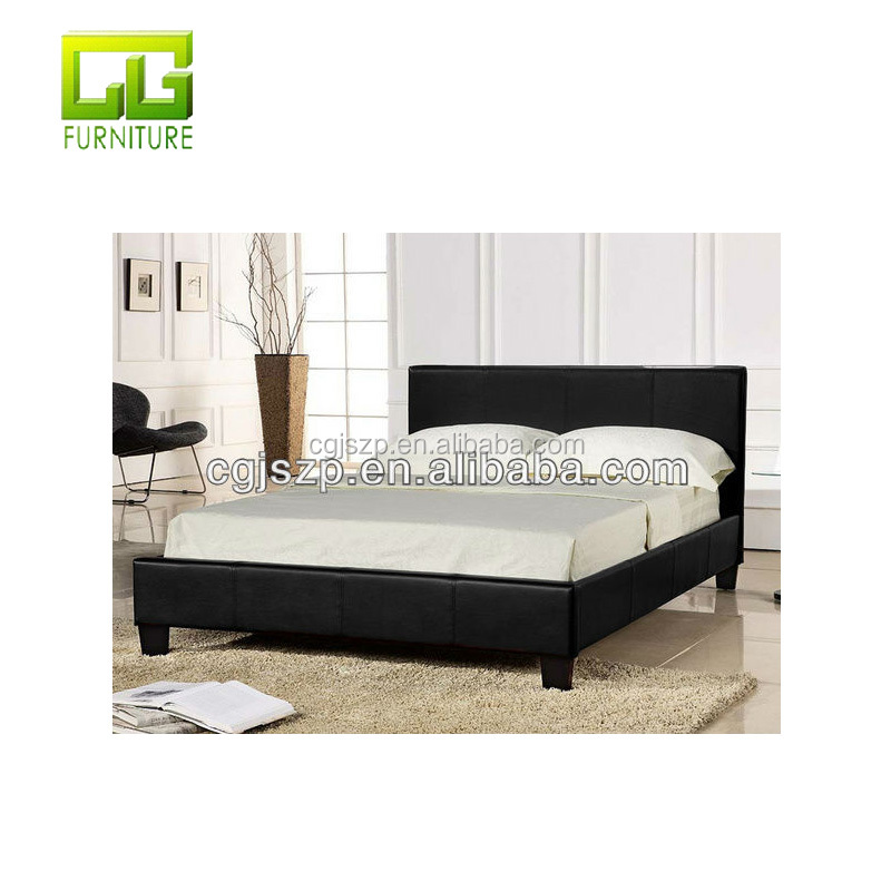 Cheap Prado bed faux leather bed for home furniture