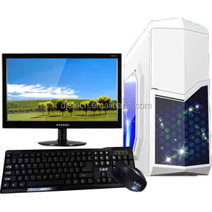China factory OEM 17 inch Shenzhen desktop computer for home for sale us with 500G and DVD RW support Intel I5 DDR3 1333MHZ